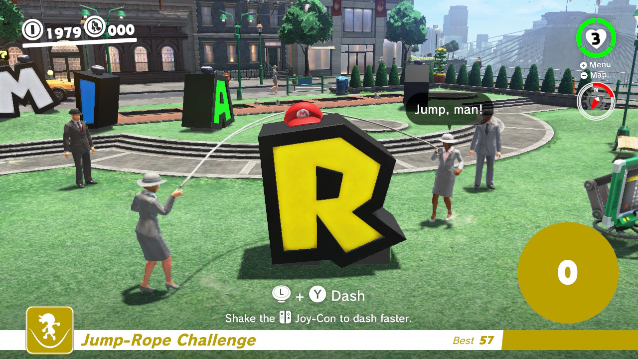 The Mario Jump Rope Challenge Sucks: The Hardest Moon in the